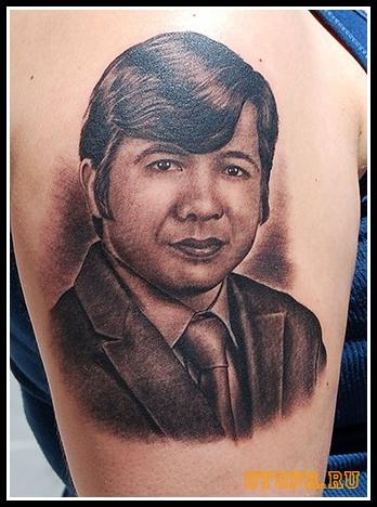 Татуировки портреты 50